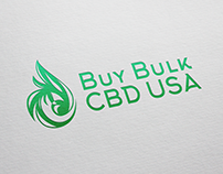 Buy Bulk CBD USA | Logo and Packaging Design