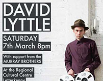 David Lyttle Gig Promotion