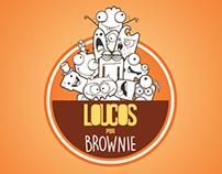 Logo Loucos por Brownie