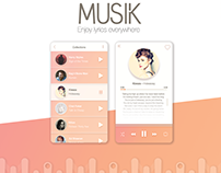 Music Lyrics Application