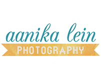 Logo and website design - Aanika Lein Photography