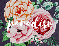 PARADISO // Floral Pattern Design