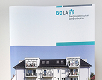 Geschäftsbericht Baugenossenschaft Lampertheim