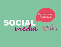 "Social Media | Enfrente ""Quando Buscar Psicoterapia?"""