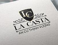 Thiết kế logo La Casta - Adina Việt Nam