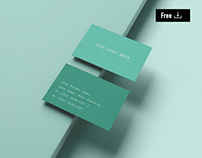 Free Business Card - Mockup Kit