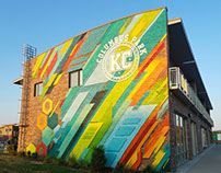 Columbus Park Loft Mural