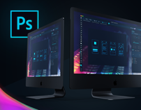 Adobe Photoshop Redesign Concept