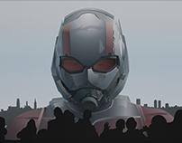 Vector Illustration of Ant-Man
