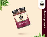 Bees & Bites(Honey) Branding Identity