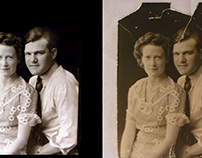 Damaged Antique Photo Restoration