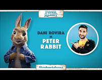 Vignettes dobladores Peter Rabbit