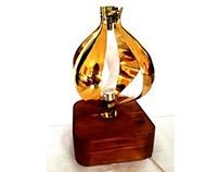 Garlic Brass Lamp
