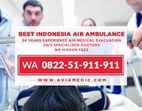 WA 0822-51-911-911 - Air Ambulance Jakarta Singapore