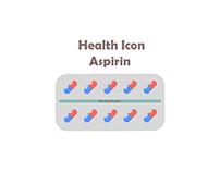 bix box studio - Blue Aspirin Health Icon