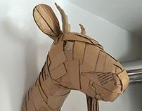 Cardboard Goat by Tefi
