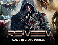 REVEEV - Game review portal