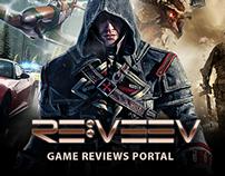 REVEEV - Game review portal