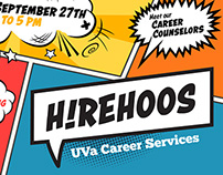 "UVA Career Services // ""HireHoos"""