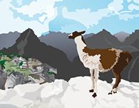 Travel Poster-Machu Picchu