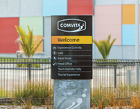 Comvita Visitor Centre & Collateral