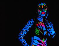 "Bodypaint ""Neon Art"""