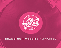 DJ Nonay: Branding + Website + Apparel