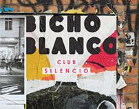 BICHO BLANCO Event Poster