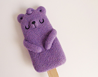 Popsicle Bear - Wild Blueberries