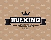 Identyfikacja firmy cateringowej Bułking