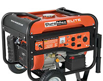 DuroMax Elite MX4500E 4,500 Watt 7 HP OHV 4-Cycle Gas P