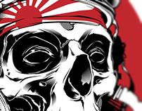 Kamikaze Pilot illustration