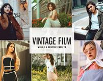 Free Vintage Film Mobile & Desktop Lightroom Presets