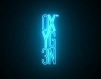 Oxyg3n: Ident & Logo