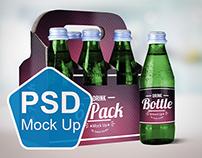 Drink Bottle & 6 Pack Mock Up V.2