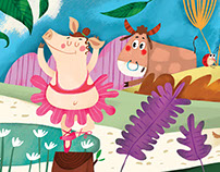 Pig ballerina