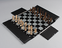 Foldable Chess