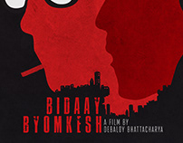 Biday Byomkesh Movie's Minimalist Concept Poster Artwor