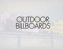 Assorted Outdoor Billboards