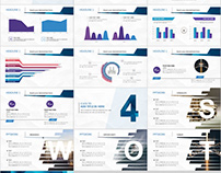 26+ Best Blue Summary Report PowerPoint template