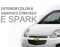 Chevrolet e-Spark decal design