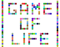 Game of Life by Jens Hviid | Neonmob