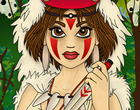 Protector of the Forest - Princess Mononoke
