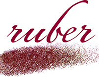 ruber ロゴと名刺デザイン