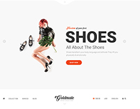 GoldMate e-commerce psd template