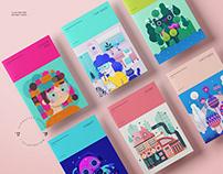 Character design & illustration 2017-2018
