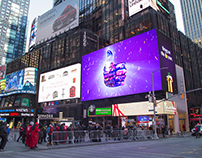 Time Square Disco Thumb Planet Fitness