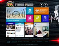 RadyoFlash Web Sitesi Arayüz ve Yazılımı