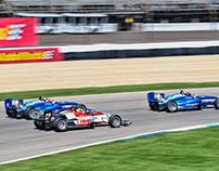 2017 Pro Mazda at Indianapolis Motor Speedway.
