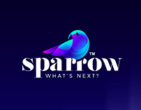 SPARROW Conceptual Logo Design